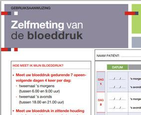 Zelfmeting van de bloeddruk